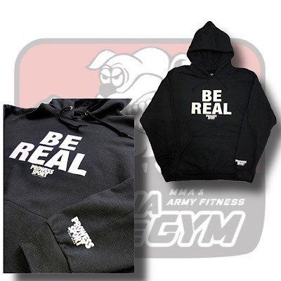 BE REAL HOODED