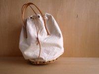 cotton canvas tool basket