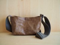DAY BY DAY/ LEATHER SHOULDERBAG
