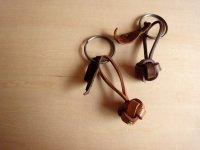 LEATHER YARN BALL/key ring