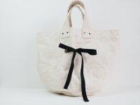 cotton canvas round TOTE BAG