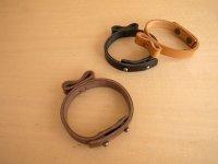 leather ribbon bracelet