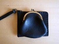 double pocket /wallet-black