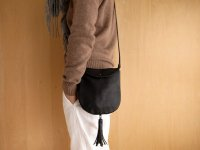 LEATHER TASSEL SHOULDER