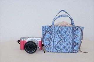 カメラポーチM(ブルーA)