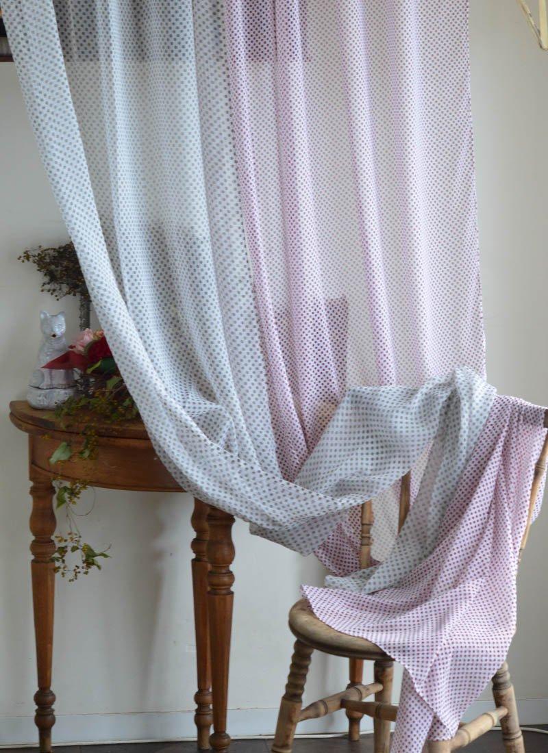 en fil d 39 indienne dot gray bordeaux bb4 osaka. Black Bedroom Furniture Sets. Home Design Ideas