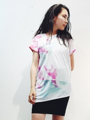 3DプリントTシャツ ( 蕾 )