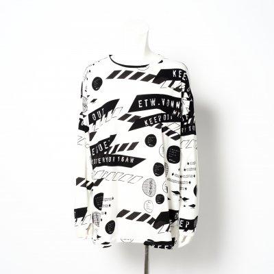[30%0FF] AR - ロングTシャツ ( ホワイト )