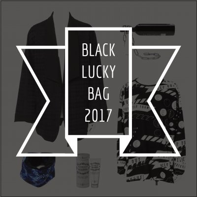 [30%0FF] 2017 BLACK LUCKY BAG(服袋)ショールカラージャケット ver.
