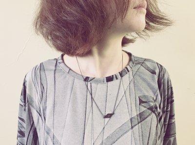 Etw.Vonneguet × THE NOVEMBERS コラボネックレス(ブラック)