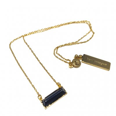 [ ¥2000 ] 石ネックレス(ブラック)