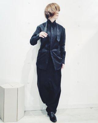 ドレスシャツ( ブラック )♫