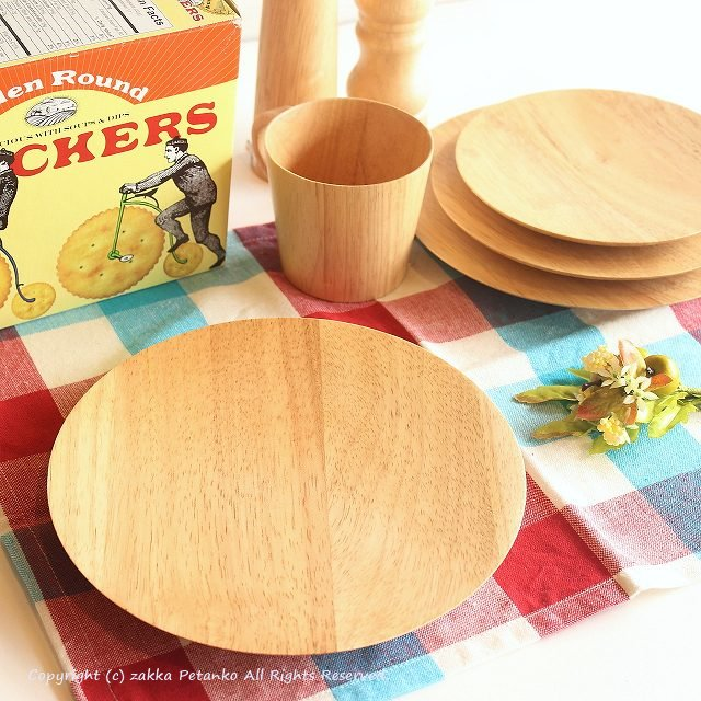 木の器|木製皿(Sサイズ/ゴムの木)