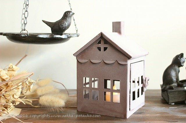 キャンドルホルダー|家型