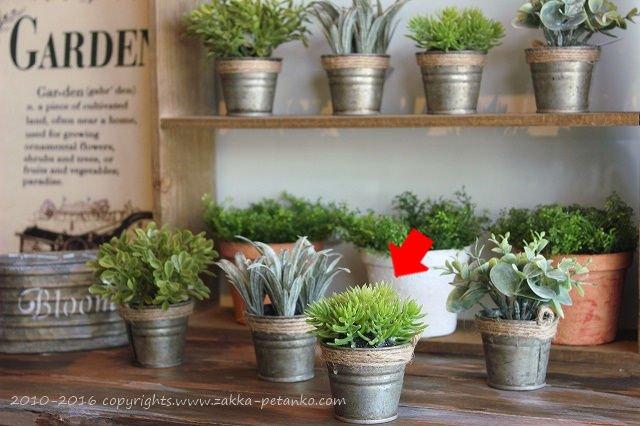 多肉植物(Sサイズ)|造花C