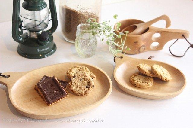 木製プレート(オーバルS)|木食器(白樺)