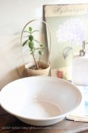 琺瑯洗面器|調理器具(ホワイト)