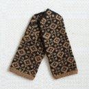 ラトビア 手編みのミトン