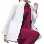 ★在庫限り★【カゼン】アディダス(adidas) 女性用ドクターハーフコート(SMS203) 1色展開