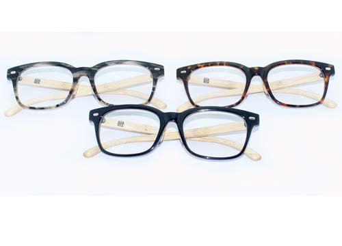 <img class='new_mark_img1' src='//img.shop-pro.jp/img/new/icons16.gif' style='border:none;display:inline;margin:0px;padding:0px;width:auto;' />GARA+ / [BUDDY] BAMBOO TEMOLES GLASSES