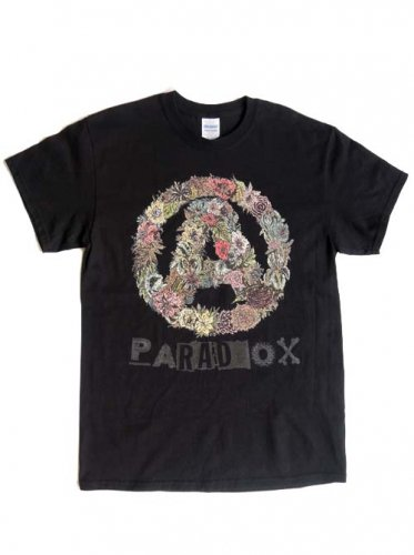 PARADOX / BOTANICAL A COLOR TEE - BLACK