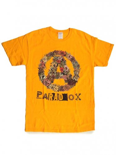 PARADOX / BOTANICAL A COLOR TEE - YELLOW