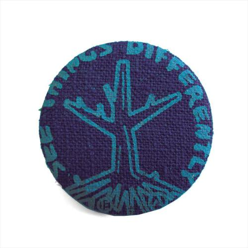 ACT / ROOTS BADGE - PURPLE