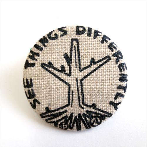 ACT / ROOTS BADGE - NATURAL
