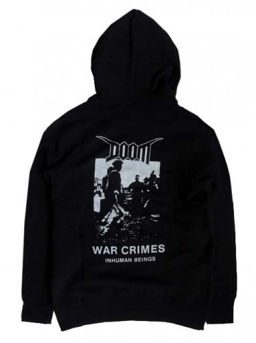DOOM / WAR CRIMES PULLOVER HOOD