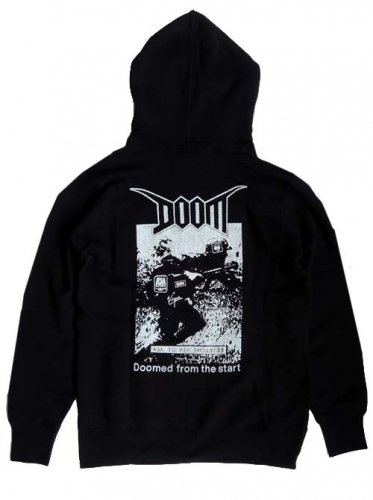 DOOM / DOOMED FROM THE START PULLOVER HOOD