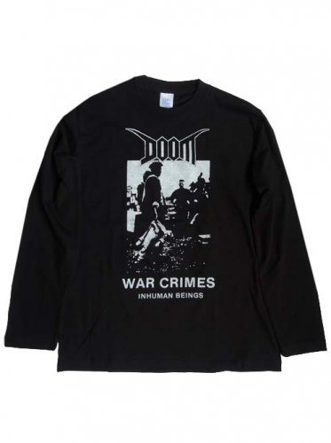 DOOM / WAR CRIMES LONG SLEEVE T-Shirts