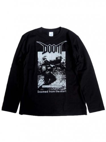 DOOM / DOOMED FROM THE START LONG SLEEVE T-Shirts
