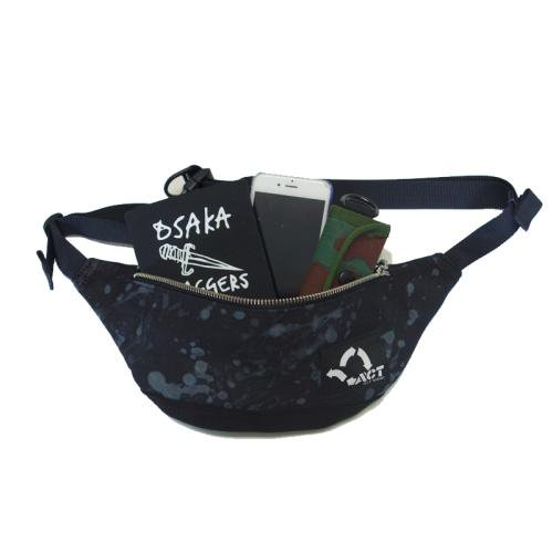 予約商品 ACT / UNIVERSE POUCH - BLACK