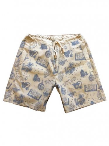"ESCAPE / ""WITCHCRAFT""SHORT PANTS"