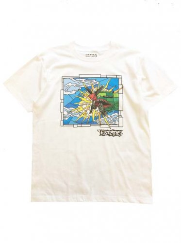 "ESCAPE / ""NOSE ART"" TEE - WHITE"