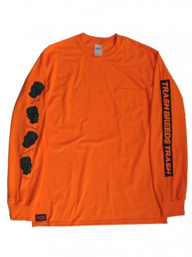 TRASH BREEDS TRASH / ポケT SK8 Franken - ORANGE