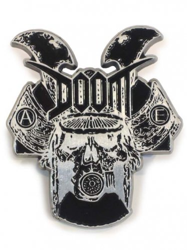 DOOM / METAL BADGE