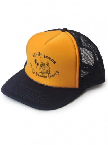 TRASH BREEDS TRASH / exotic trans CAP - NAVY x GOLD