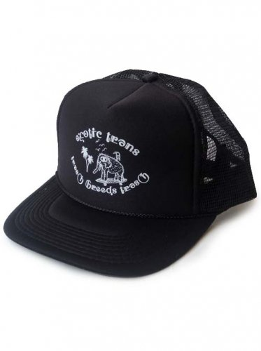 TRASH BREEDS TRASH / exotic trans CAP - BLACK x BLACK