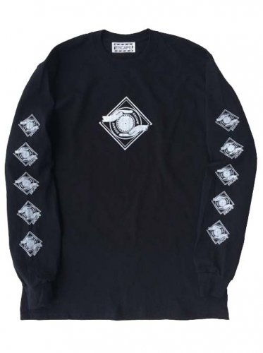 予約商品 ESCAPE / LOGO MARK LONG SLEEVE T-SHIRT - BLACK
