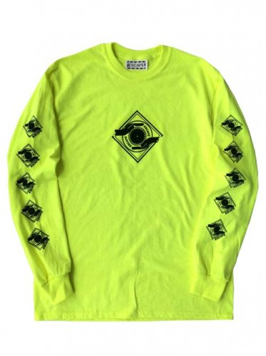 ESCAPE / LOGO MARK LONG SLEEVE T-SHIRT - YELLOW