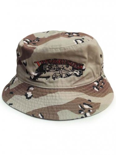 TRASH BREEDS TRASH / TRASH君 SAFARI HAT - 迷彩