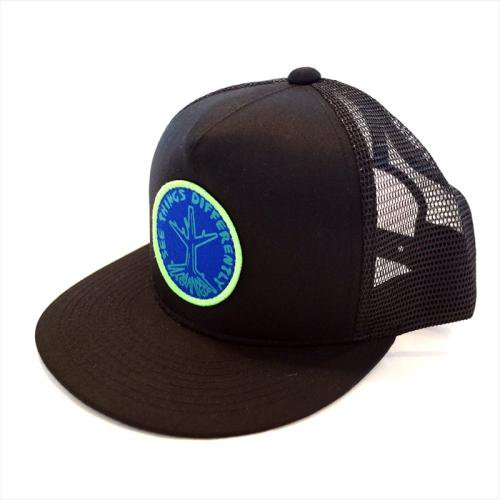 予約商品 ACT / ROOTS CAP - BLACK x BLUE