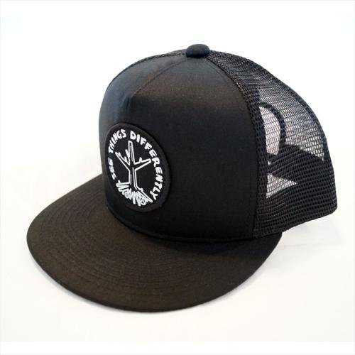 ACT / ROOTS CAP - BLACK x BLACK