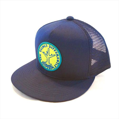 ACT / ROOTS CAP - NAVY x YELLOW