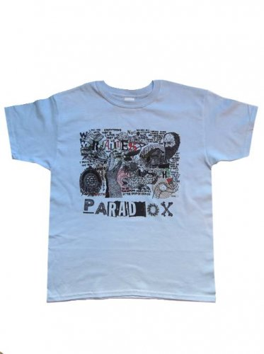 <img class='new_mark_img1' src='https://img.shop-pro.jp/img/new/icons16.gif' style='border:none;display:inline;margin:0px;padding:0px;width:auto;' />PARADOX  / Fill the days T-Shirts - LIGHT BLUE