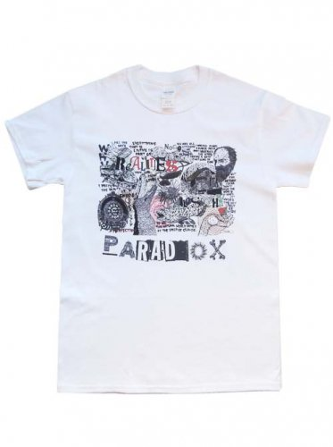 PARADOX  / Fill the days T-Shirts - WHITE