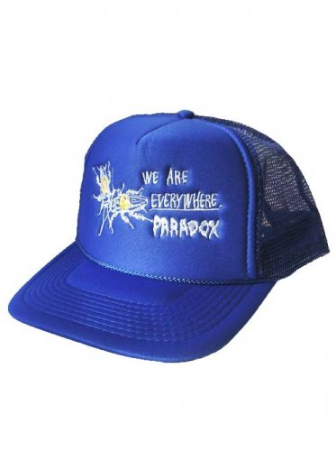 PARADOX  / COCKROACH EMBROIDERED MESH CAP - BLUE