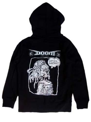 DOOM / WE Hate Brew Crew ZIP HOOD