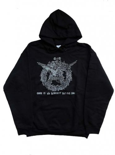 <img class='new_mark_img1' src='https://img.shop-pro.jp/img/new/icons16.gif' style='border:none;display:inline;margin:0px;padding:0px;width:auto;' />PARADOX / A BIRD PULLOVER HOOD - BLACK